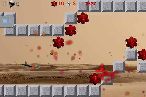 MineSweep Jet Hero New Mexico Level ScreenShot